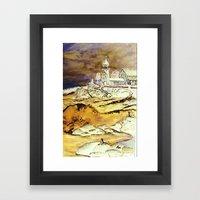 Brentons Lighthouse Ipod… Framed Art Print