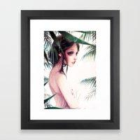Le Dernier Bain. Framed Art Print