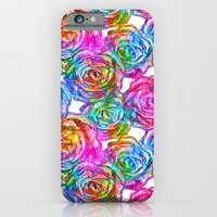 roses iPhone & iPod Cases featuring Roses by Aloke Design