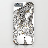 iPhone & iPod Case featuring Grand Mother by HABBENINK