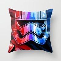 Our Captain Throw Pillow