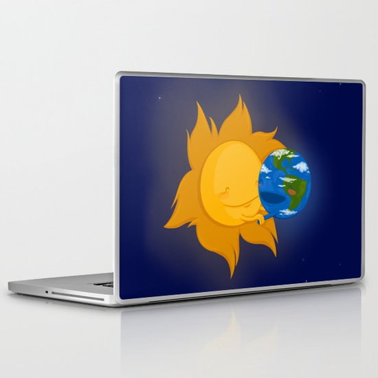Global Warming #1 Laptop & iPad Skin