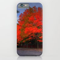 iPhone & iPod Case featuring Falling for Red by Ornithology