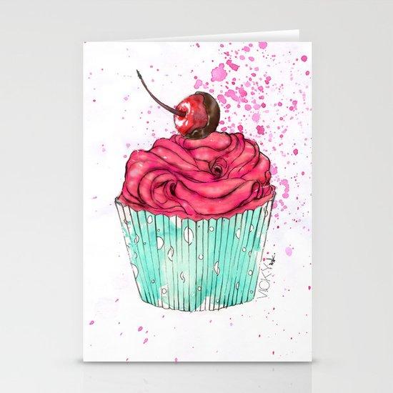 Creative Cupcake... Stationery Card