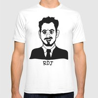 RDJ Mens Fitted Tee White SMALL