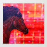 War Horse 2 Canvas Print