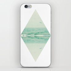 Parallel Waves iPhone & iPod Skin
