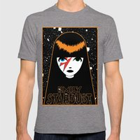 Emily Stardust Mens Fitted Tee Tri-Grey SMALL