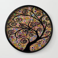 Abstract tree-11 Wall Clock