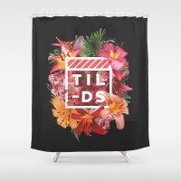 Tilds Shower Curtain