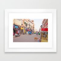 India New Delhi Paharganj 5489 Framed Art Print