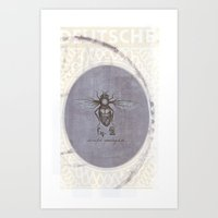 Twisted Perception  Art Print