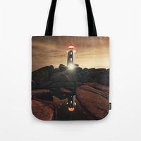 Glow of the Street Tote Bag