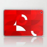 Red Stamp Laptop & iPad Skin