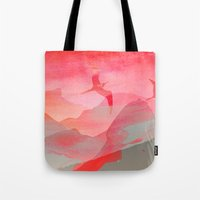 Gliding in Rio's sky. Tote Bag