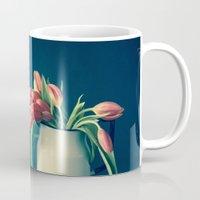 Strength and Honor - Tulips Mug