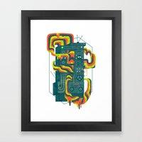 Magic Stereo Framed Art Print