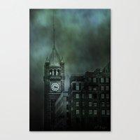 Spotlight On Time Canvas Print