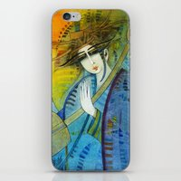 No one can stop my dream horses... iPhone & iPod Skin