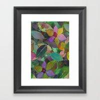 Floral Pattern 7 Framed Art Print