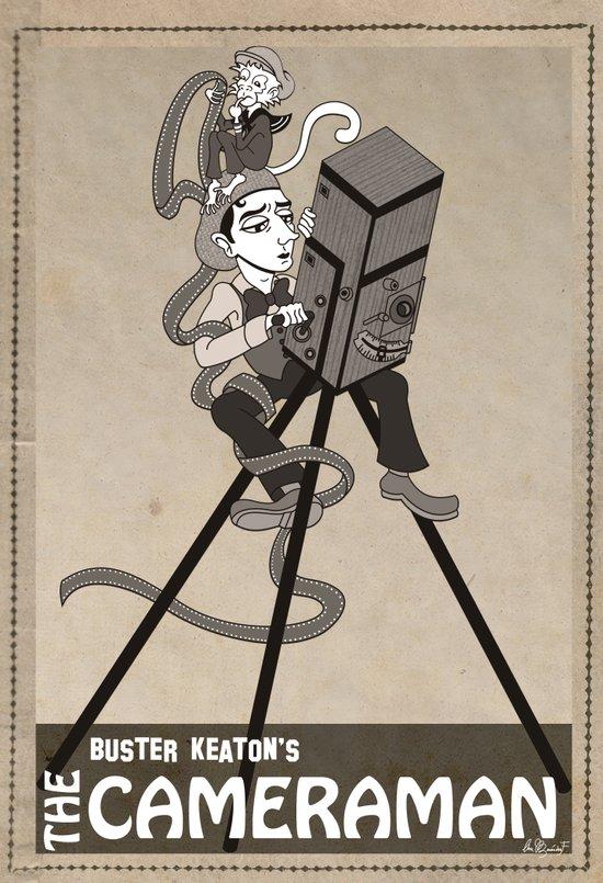 Buster Keaton The Cameraman Art Print