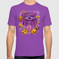 Fry-Day Mens Fitted Tee Ultraviolet SMALL
