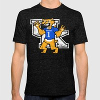 Kentucky Mens Fitted Tee Tri-Black SMALL