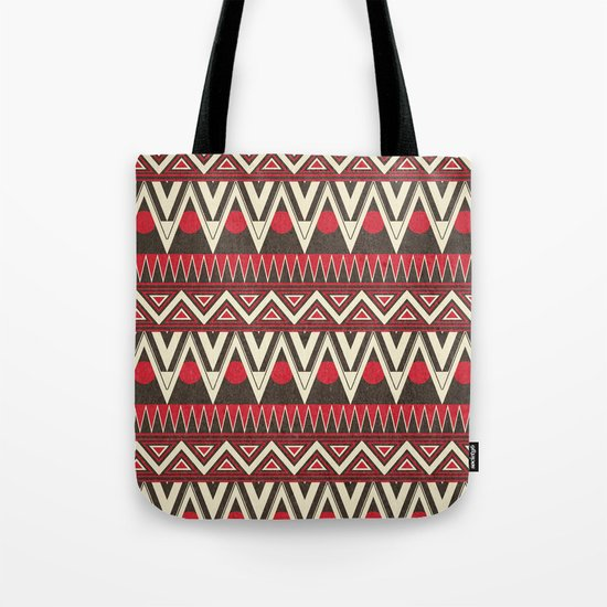 Tribal New World  Tote Bag