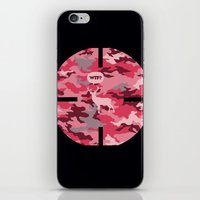 WTF? Ciervo! iPhone & iPod Skin