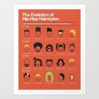 The Evolution Of Hip-Hop… Art Print