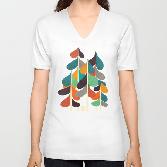 Cabin in the woods V-neck T-shirt