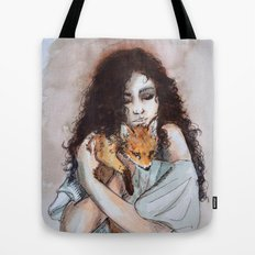 My fox, my love Tote Bag