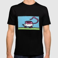 Mousear SMALL Black Mens Fitted Tee