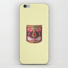 The Polynesian Mask iPhone & iPod Skin