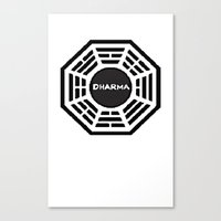 Dharma Initiative Canvas Print