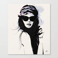 Infatuation - Digital Fa… Canvas Print