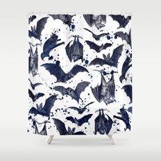 BATS Shower Curtain