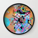 Senet Wall Clock