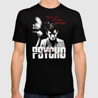 Psycho Mens Fitted Tee Black SMALL