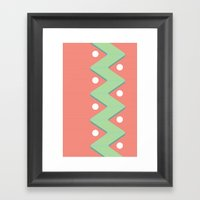 Cwazy. Framed Art Print