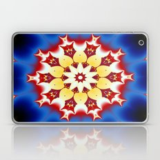 Robot Bird Mandala Laptop & iPad Skin