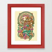 MerMadNess Framed Art Print