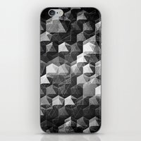 as the curtain falls (monochrome series) iPhone & iPod Skin