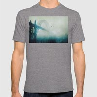 Into the Fog Mens Fitted Tee Tri-Grey SMALL