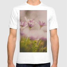 Hidden Beauty White SMALL Mens Fitted Tee