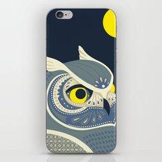 Night Owl iPhone & iPod Skin