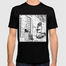Apollonia Saintclair 624… Mens Fitted Tee Black SMALL