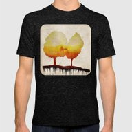 Trees Of Life Mens Fitted Tee Tri-Black SMALL