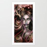 The Secret Blossoming Art Print