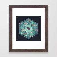 Away from Everything Framed Art Print